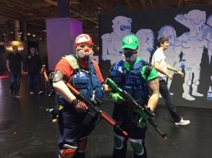 Mario and Luigi Cosplay (Credit: Emily Rice-Adams)